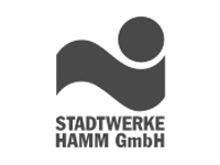 Stadtwerke Hamm Pixelschilder Werbung