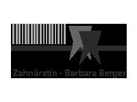Barbara Berger Zahnärztin Pixelschilder Werbemittel
