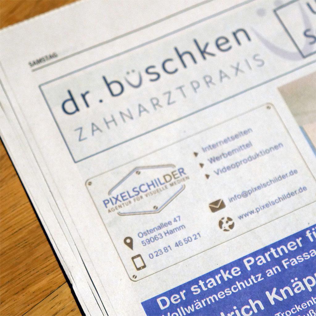Anzeige TUS 59 Dr. Büschken